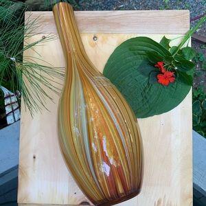 HANDBLOWN MOD Art Glass Vase